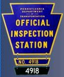 Pennsylvania State Inspection Station
